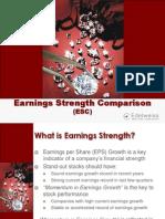 Earnings Strength Comparison Jun 2007