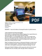 Frisch School Wiki- Bergen Record Online- 11-04-09