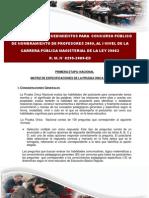 MATRIZ DE EVALUACION NOMBRAMIENTO DE DOCENTES I NIVEL CPM [1]