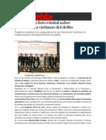 29-04-2014 S Puebla - SGG realiza foro estatal sobre protección a víctimas del delito.