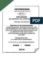 Universidad Cesar Vallejo Puno Marzo 2014
