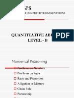 Quantitative Ability - Level b