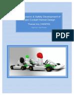 Aerodynamic & Safety Development of Open Cockpit Helmet Design