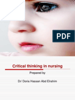 3-Critical Thinking in Nursing