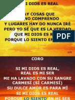 2Mi Dios Es Real