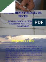 Curso Hematología de Peces 1