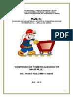 Compendio Comercializacion de Minerales