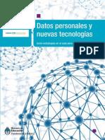 Datos Personales y TIC