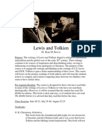 Lewis and Tolkien Syllabus