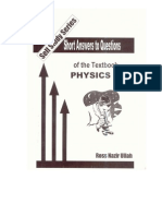 Book Short Ans 1 fsc physics text book part 1