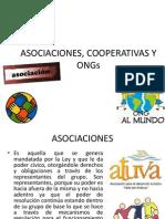 Asociaciones, Cooperativas y Ongs