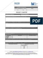 Plantilla Project Charter