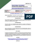 Reglamento de Granja Avicola