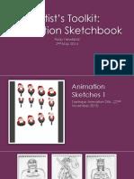 Animation Sketchbook Portfolio
