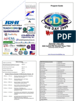 Houston Area GIS Day 2009 Brochure