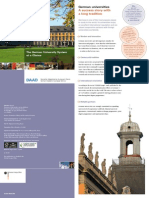 German University System at a Glance