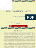 Titan Industries Limited