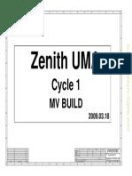 Hp Probook 4510s (Pn Fn068ut) Laptop Motherboard Schematic Diagram