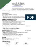 kenneth rigberg march 2014 resume