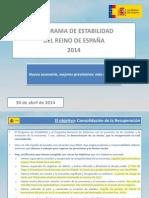 Programa Nacional Reformas 2014-2017