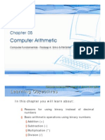 Chapter 05-Computer Arithmetic