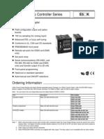 Omron E5CK-AA1 Temperature Controller