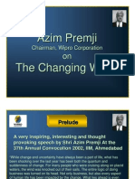 Azim Premji on the Changing World 2577