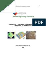 Conceptos y Criterios Para La Evalucion Ambiental de Humedales[1]