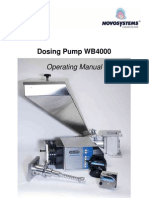 WB4000 Operating Manual