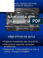 Anatomia das Coronárias