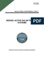 us army ufc 3-440-01 design - active solar preheat systems ufc 3-440-01