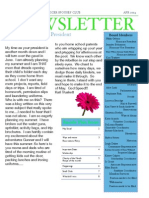 May 2014 Barksdale Officers' Spouses' Club Newsletter