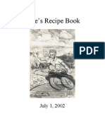 Recipes - Dale's Recipe Book 2002