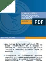 Formaciones Profesionales Electivasfinal 2014