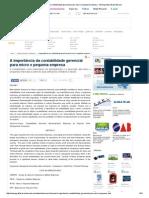 A Importância Da Contabilidade Gerencial Para Micro e Pequena Empresa - Monografias Brasil Escola