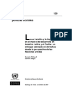 Corrupcion y La Impunidad en America Latina
