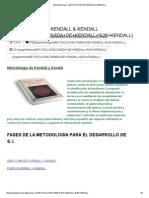 Sisteminformacii - Metodología de Kendall & Kendall