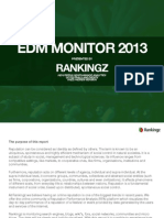 EDM Monitor 2013 - Festivals and Events (vs 1.0)