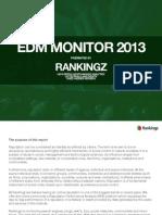 EDM Monitor 2013 - Festivals and Events (vs 1.0)