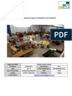 safety report in workplace