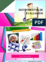 instrumentos de evaluacin