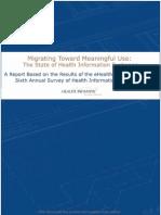 2009 HIE Survey Report FINAL