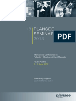 18 Plansee Seminar - Preliminary Program, 20 MAR 2013[1]