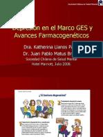 Depresión en El Marco GES y Avances Farmacogenéticos
