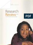 Research Reviews 2001 to 2002