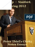 Peter Thiel, Start Up