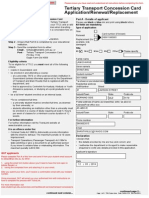 TTCC QUT Application Form