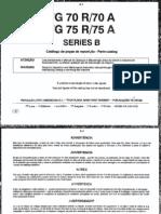 Partes Motoniveladora FG70A
