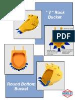 V-Rock and Round Bottom Buckets