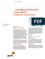 Pwc Publ Lux Income Taxes 2013